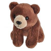 Plush Lil Kins Brown Bear-WR21176