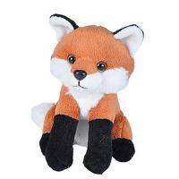 Plush Lil Kins Red Fox-WR21189