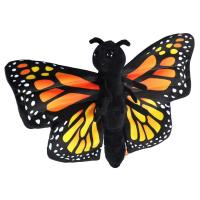 Plush Monarch Butterfly Hugger-WR23541