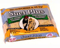 Mealworms and Nuts Suet Cake  + Freight West of Rockies Only-WSC212