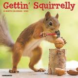 Gettin' Squirrelly 2020 Calendar-WC06436