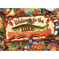 Welcome to the Lake Puzzle 1000 pcs-WC39828