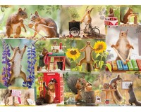 Gettin' Squirrelly 1000 pc Puzzle-WC48598