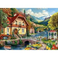 House by the Pond Puzzle 1000pc-WC48710