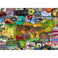 Let's Fish Puzzle 1000pcs-WC48734