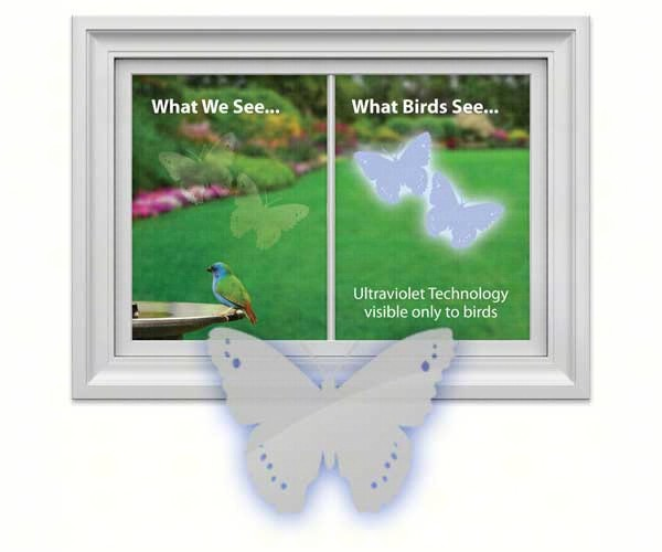 Butterfly Decal (4 per package)