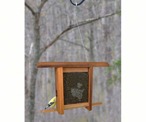 Grapes Etched Glass bird feeder WE202'