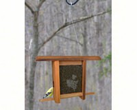 Grapes Etched Glass bird feeder-WE202