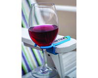 Blue Wine Glass Holder Hook-WHBU8223