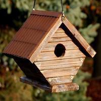Rustic Wren House-WL24232