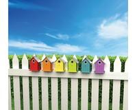 Wren & Chickadee Bird House Assortment-WL25415