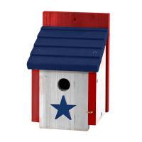 Patriotic Small Wren House-WL25433