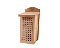 Heavy Duty Cedar Mason Bee House-WL28551