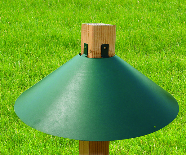 Green 22 in. 4x4 Mount Baffle