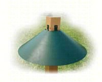 Green 22 in. 4x4 Mount Baffle-WLBAF3GR