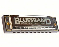 Blues Band Harmonica-WOOD12001