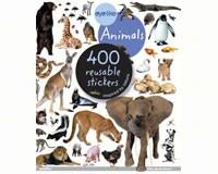 Eyelike Animals 400 Reusable Stickers-WMP0761169338