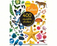 Eyelike Colors 400 Reusable Sticker Book by Workmans Publishing-WMP0761169352
