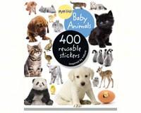 Eyelike Baby Animals 400 Reusable Stickers-WMP0761174837