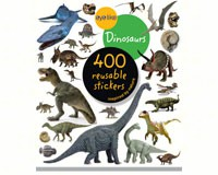 Eyelike Dinosaurs 400 Reusable Stickers-WMP0761174844
