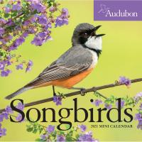 Audubon Songbirds 2021 Mini Calendar-WMP100889