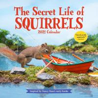 The Secret Life of Squirrels 2021 Calendar-WMP101022