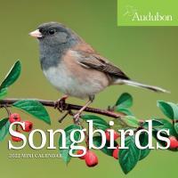 Audubon Songbirds Mini Wall Calendar 2022-WMP101219