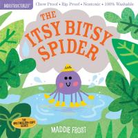 The Itsy Bitsy Spider Indestructibles Book-WMP1523505098