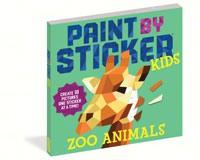 Paint by Sticker Zoo Animals-WMP18960