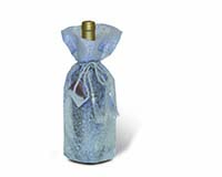 Sheer Delight Silver Wine Bottle Gift Bag-14031