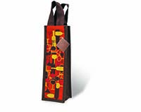 Bottoms Up Wine Bottle Gift Bag 15535
