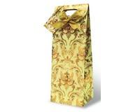 Versailles - Beige Wine Bottle Gift Bag 17338