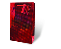 Red Foil Large Gift Bag 17349