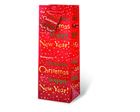 Fantastic ChristmasWine Bottle Gift Bag 17359