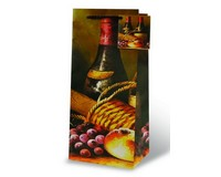 Vintage Wine Wine Bottle Gift Bag 17360