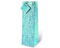 Natural Blue Floral Wine Bottle Gift Bag 17434
