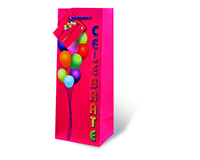 Celebrate Wine Bottle Gift Bag-17443