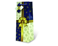 Tied With A Bow Wine Bottle Gift Bag-17450