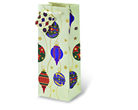 Deck The Halls Wine Bottle Gift Bag-17456