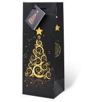 Enchanting Christmas Wine Bottle Gift Bag-17525