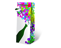 Party Time Wine Bottle Gift Bag-17564