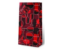 Crimson Glasses Two Bottle Wine Gift Bag-17570