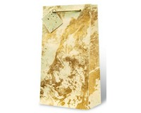 Marble Paper Two Bottle Wine Gift Bag-17591