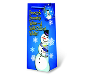 Frosty's Favorite Wine Wine Bottle Gift Bag-17624