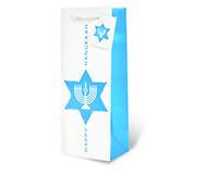 Happy Hanukkah Wine Bottle Gift Bag 17718