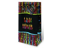 Make A Wish Two Bottle Wine Gift Bag-17771