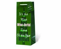 It's The Most Wine-derful Time of the Year Wine Bottle Gift Bag-17825