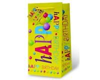 Happy Birthday Wine Bottle Gift Bag-17884