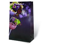 Vino Divino Two Bottle Wine Gift Bag-17890