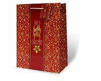Holly Jolly Christmas Large Gift Bag-17891